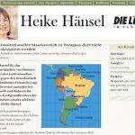 """Bundesregierung betreibt """"Wahlkampfhilfe"""" für paraguayische Putschisten"""
