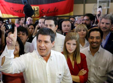 Horacio Cartes, Präsident Paraguays ab dem 15. August 2013