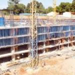 World Trade Center Bau weit vorangeschritten
