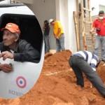 Baustellen-Wächter tötet und begräbt Frau