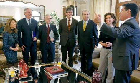Horacio Cartes liebäugelt mit der Europäischen Union