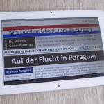 Das Wochenblatt E-Paper N° 8 geht den Sachen auf den Grund