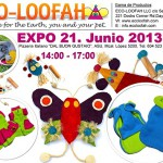EXPO – Loofah-Tierspielzeug für Katze und Hund