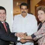 Cartes und Maduro treffen aufeinander