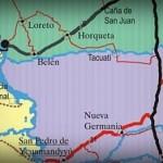 Der Einfluss der EPP in den Provinzen San Pedro und Concepción