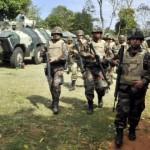Militäreinsatz in drei Provinzen