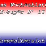 Wissenswert und umfassend – das E-Paper