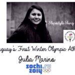 Paraguays erste und einzige Athletin bereit für die Winterolympiade
