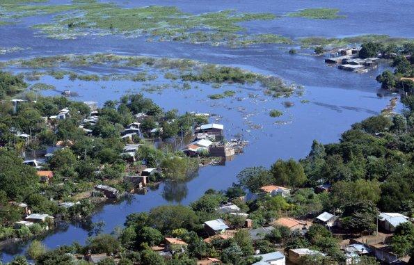 Rio Paraguay steigt weiter…