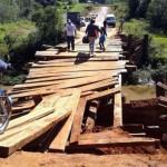 Alte Holzbrücken