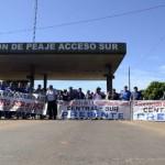Proteste an den Mautstellen