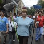 Hausangestellte fordern…