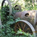 Eine Dampfmaschine in Paraguay