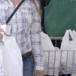 Kampagne gegen Plastiktüten