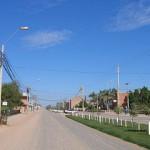 Straßenallee Ñu Guasu im März 2015 fertig