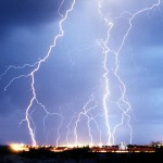 Blitze nehmen zu