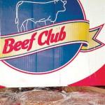 Hamburgerfleisch von Brangus und Braford Rindern
