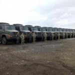 Brasilianische Armee spendet Militär-LKW