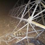 765.000 Menschen ohne Strom durch Sabotage