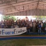 """""""Die Studenten überschreiten die Grenze zur Demokratie"""""""