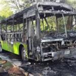 Bus in Flammen – Notausstieg versagt