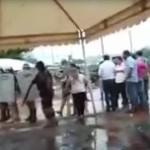 Gewaltsames Vorgehen gegen Demonstranten in CDE