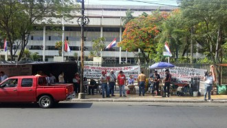 Boykott der ANDE Mitarbeiter