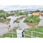 Häfen überflutet, Zoll vor Problemen