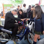 Motorrad mit Wasserstoff-Antrieb