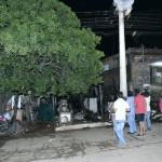 Transformator explodiert, Haus brennt ab