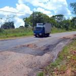 Vernachlässigte Straßen der Kolonie Independencia