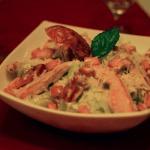 Mediterrane und italienische Gerichte