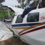 Flugzeug stürzt bei Remanso Brücke ab