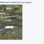 Friedmann droht seinem Sohn mit Mord