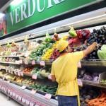 Ein Mangel an Gemüse und Obst