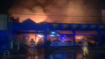 Großbrand in Asunción