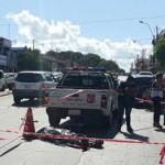 Zwei Räuber erschossen, Opfer auf freiem Fuß