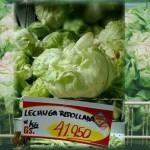 Salat: 41.000 Gs. pro Kilo