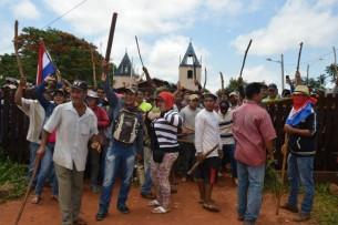Mobilisierung in San Pedro