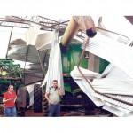 Wieder verursacht ein Tornado erhebliche Schäden