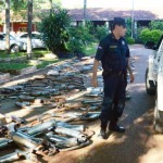 Die Polizei auf der Jagd nach lauten Motorrädern