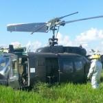 Hubschrauber muss notlanden