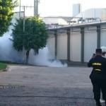 Leck im Kühlhaus: Giftiges Ammoniak ausgetreten