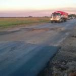 Schlaglöcher: Zwei LKW Fahrer aus der Kolonie Independencia verletzt