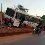 Bus-Wettrennen endet fast in einer Tragödie