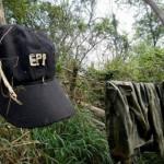 Mit Uniformen der EPP Viehzüchter erpresst