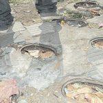 Tödliche Fallen durch Kanaldeckel Räuber