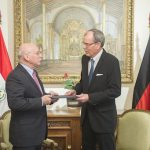 Neuer Botschafter der BRD in Asunción
