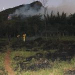 Großbrand im Nationalpark Ybytyruzú