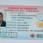 Was braucht es alles für einen neuen paraguayischen Führerschein?